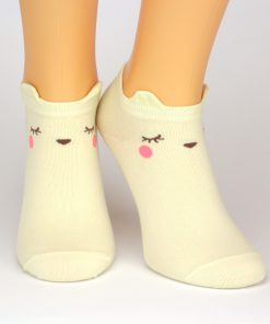 gelbe Sneaker Socken