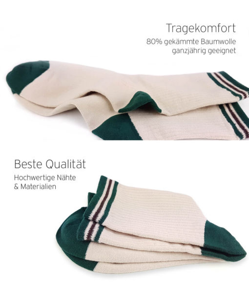 Basic Socken elfenbeinfarben