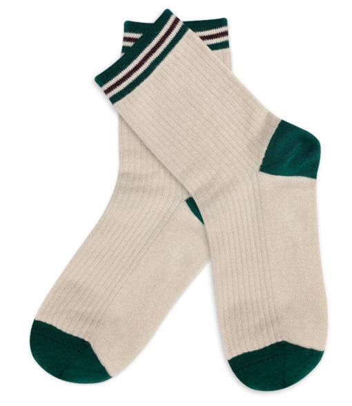 Socken Basic in Elfenbeinfarben