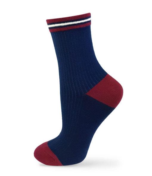 Basic Socken marineblau