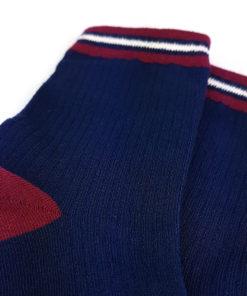 Basic Socken in blau