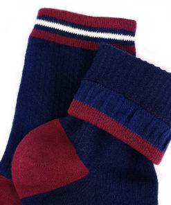Marineblaue Socken Basic