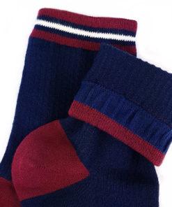 Marineblaue Socken Basic