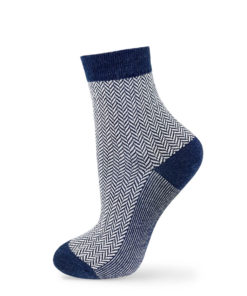 Klassische Business-Socken in blau