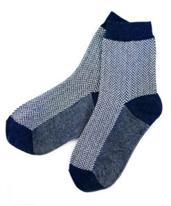 Business-Socken blau Wellenmuster Fashion