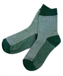 Business Socken grün von Charaktoes