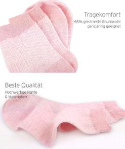 Qalitäts-Socken Jacquard Wellenmuster