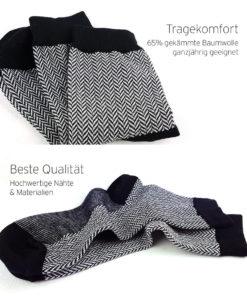 Qualität Business Jacquard-Socken