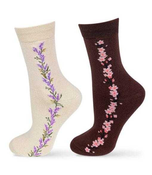Socken Set beige und braun