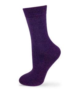 Socken violett
