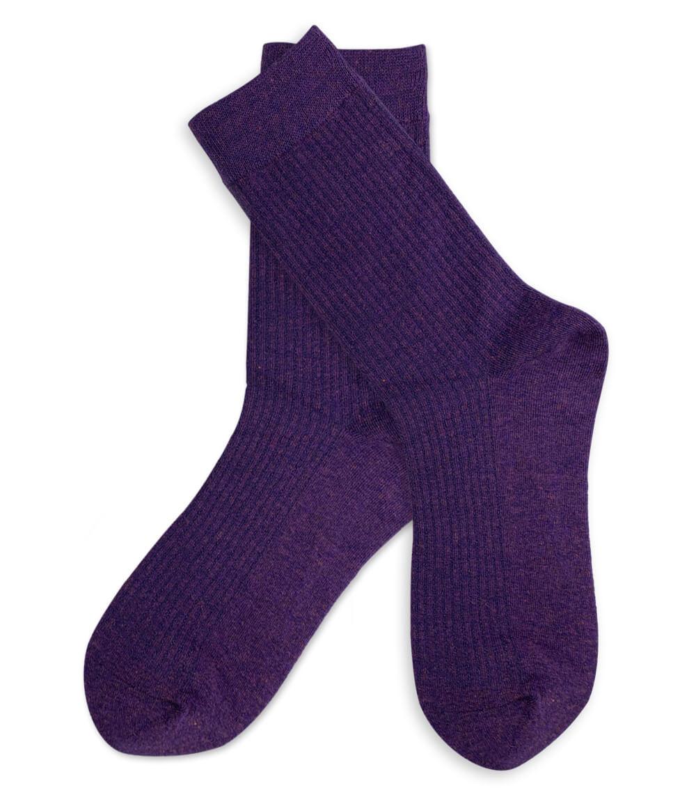 Wandfarbe Violett Lila Kolorat Eine Auswahl In Lila: Socken - Set - Gelb Und Violett