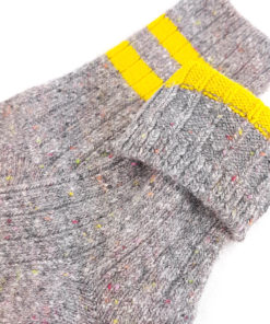 Füßling hellgraue Socken