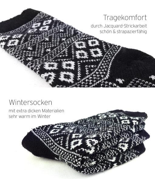 Angora Wolle Socken warm
