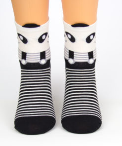 Charaktoes Panda-Socken