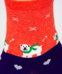 Bär Weihnachten Socken
