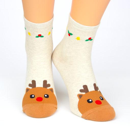 Motivsocken Rudolf