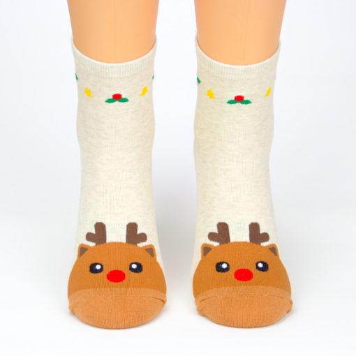 Socken Rudolf Weihnachten