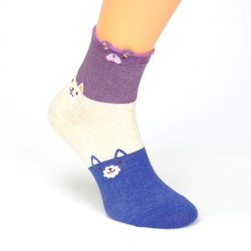 Socken Pudelmotiv
