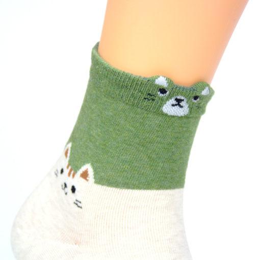 Socken Katze