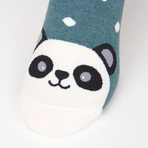 Socken mit Panda