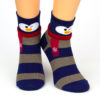 Motivsocken Pinguin