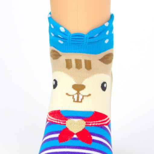 Eichhörnchen Socken Sneaker