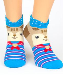 bunte Socken Eichhörnchen