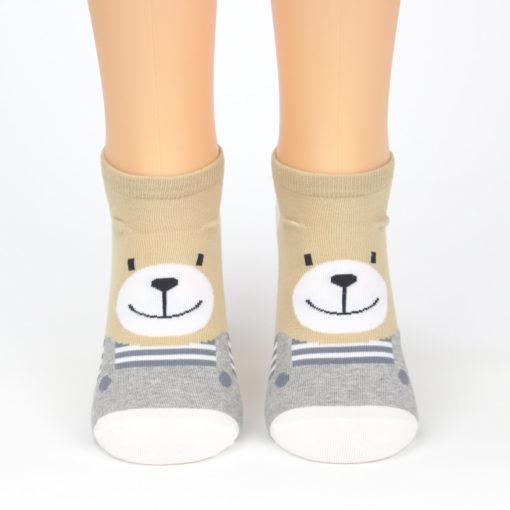 Sneaker Socken Bären Motiv