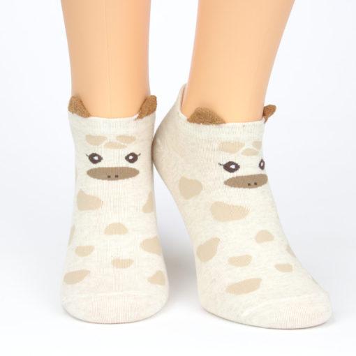 Sneacker Socken Geschecktes Schweinchen