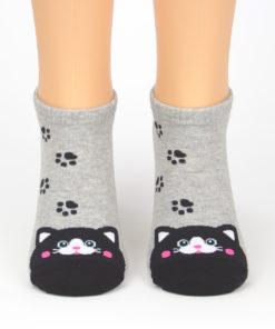 Sneaker Socken Katze