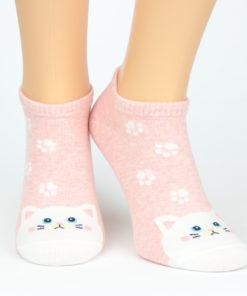 Katzensocken rosa