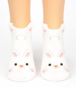 Winkender Hase Socken