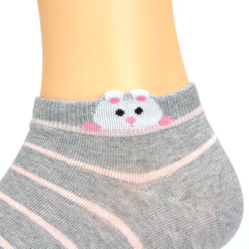 Motiv Sneaker Socken Hamster