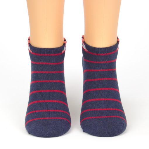Sneaker Socken Fuchs Streifen