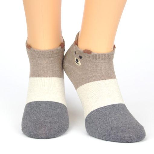 Sneaker Socken scheuer Bär
