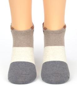 Sneaker Socken Streifen mit Bär