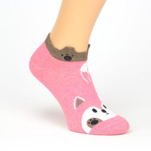 Socken schwanzwedelnder Fuchs