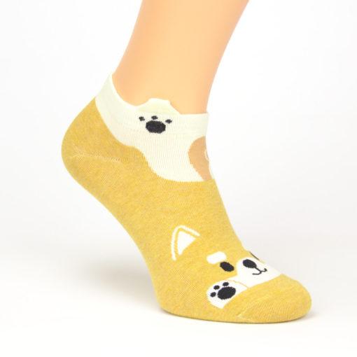 Socken schwanzwedelnder Hund