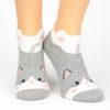 Sneaker Socken schwanzwedelnde Katze