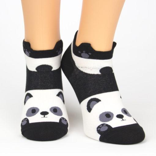 Sneaker Socken schwanzwedelnder Panda