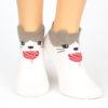 Sneaker Socken wollknoll Katze