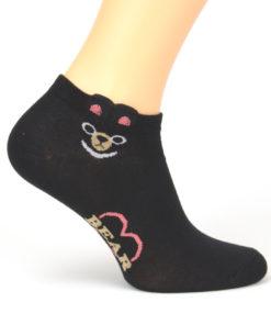 Socken Bär schwarz