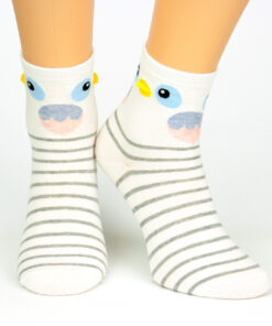 Motiv-Socken Hübscher Papagei