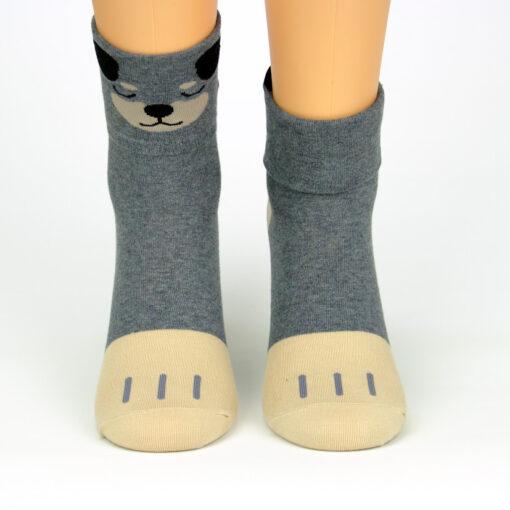 Wandelbare Socken Hund