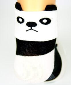 Pandagesicht Socken