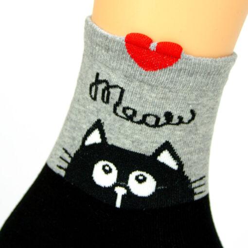 Miau Katzen Socken